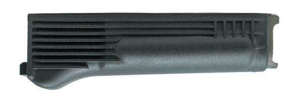 Lower handguard, for milled receiver, polymer, black, stainless steel heat shield, US, Arsenal, Inc.