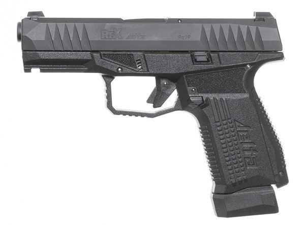 "The Rex Delta (REXDELTA-01) is a 17-round, 4.0"" barrel, 9x19mm, polymer frame striker fired pistol."
