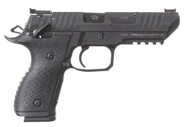 "Rex Alpha 9 5.0"" barrel, 9x19mm, full steel frame competition pistol"