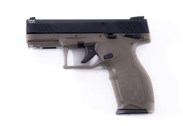 """Taurus TX22 .22LR 10RD 4"""" Barrel Semi-Automatic Pistol OD Green"""