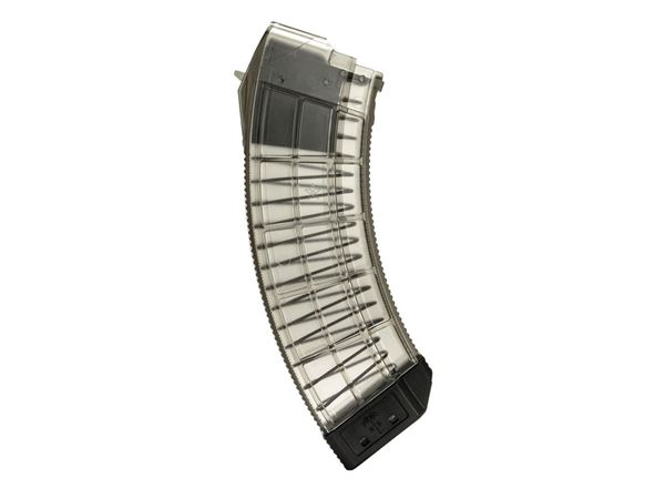 Picture of US Palm AK30R ClearPolymer AK47 Magazine 30rd