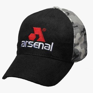 Picture of Arsenal Black / Camo Split Logo Cap