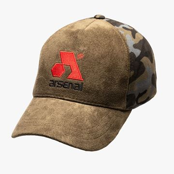 Picture of Arsenal Green Camo Traditional Split Cap