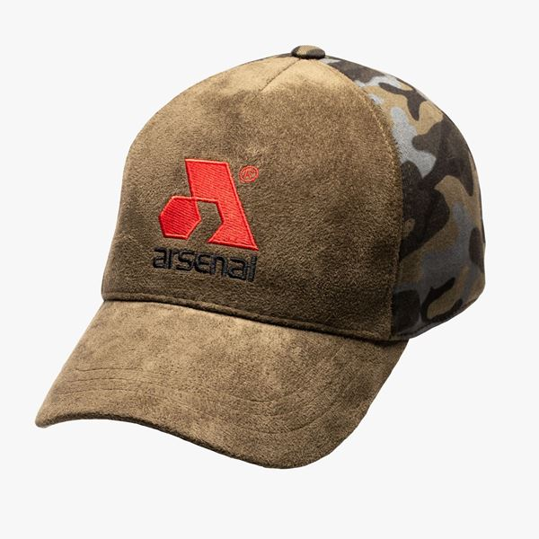 Picture of Arsenal Men's Traditional Split Cap, Green Camo