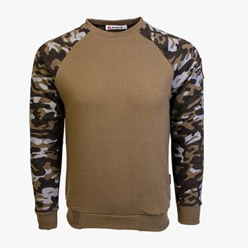 Picture of Arsenal Khaki / Camo Series Utility Cotton-Poly Standard Fit Pullover Sweater