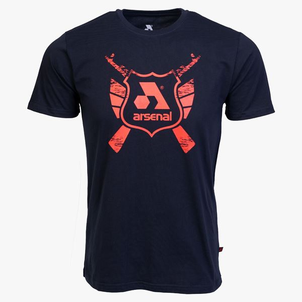 Picture of Arsenal Blue Cotton Relaxed Fit Classic T-Shirt