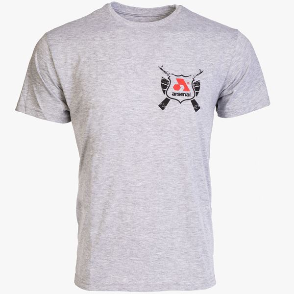 Picture of Arsenal Gray Cotton Relaxed Fit Classic T-Shirt