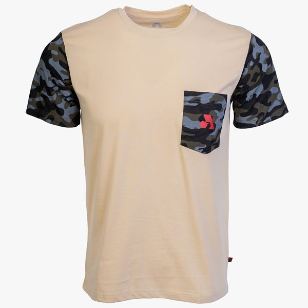 Picture of Arsenal Beige / Camo Cotton Expedition T-Shirt
