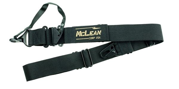 Picture of McLean Corp Black Dynamic Retention Sling