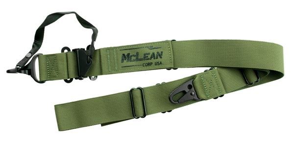 Picture of McLean Corp Ranger Green Dynamic Retention Sling