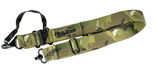 Picture of McLean Corp Multicam Dynamic Retention Sling QD Swivel