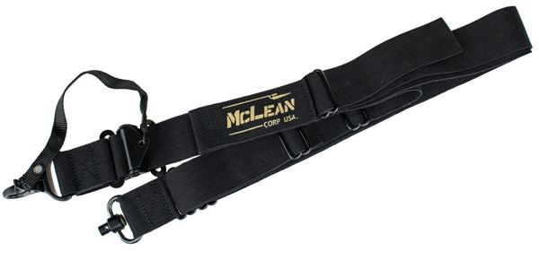 Picture of McLean Corp Black Dynamic Retention Sling QD Swivel