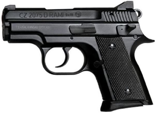 Picture of CZ 2075 RAMI BD 9mm Black Pistol (Low Capacity)