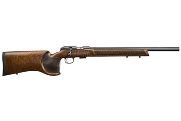 Picture of CZ 457 Varmint Match Target 22LR Walnut Bolt Action 5 Round Rifle