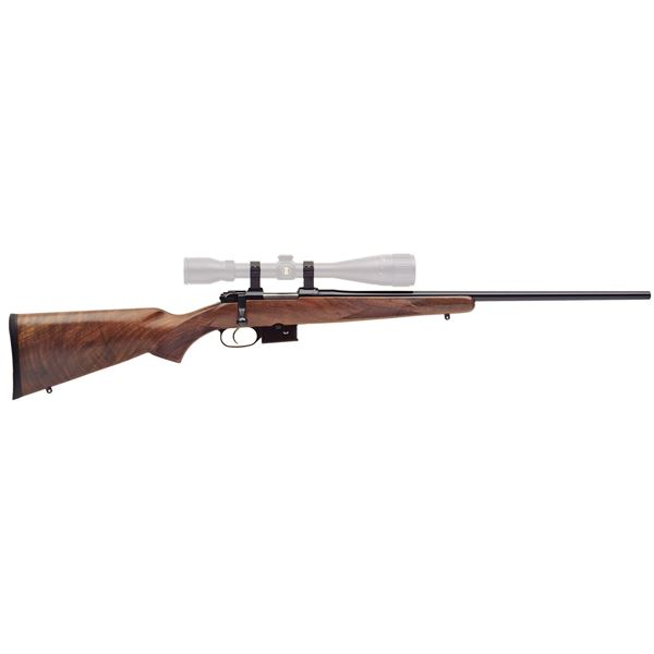 Picture of CZ 527 American 204 Ruger Walnut Bolt Action 5 Round Rifle