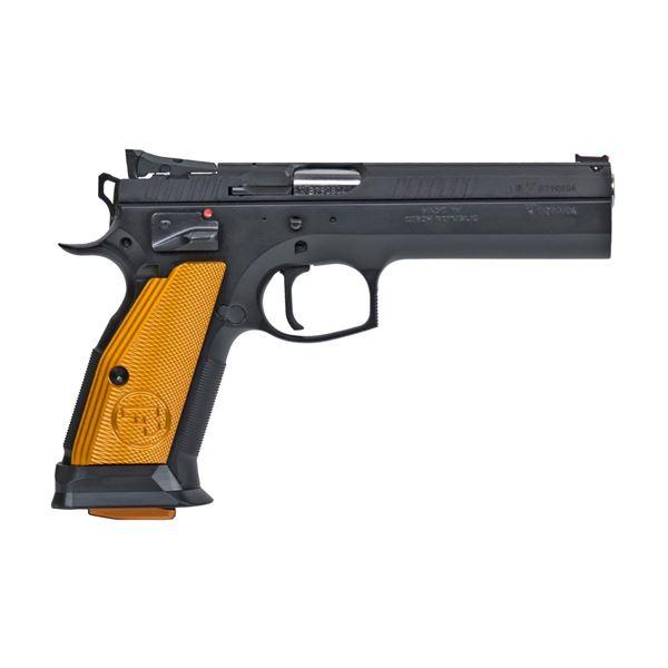 Picture of CZ 75 40 S&W Orange Semi-Automatic Pistol