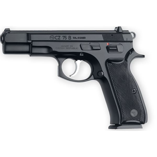 Picture of CZ 75B 9mm Semi-Automatic Black Pistol