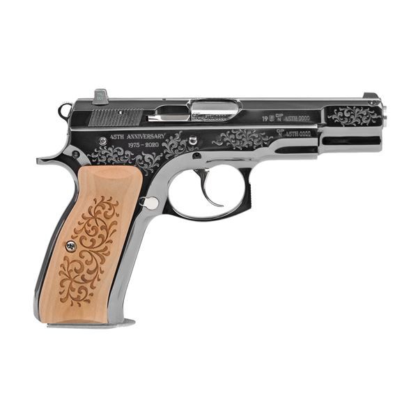 Picture of CZ 75B 9mm Semi-Automatic Blued Pistol