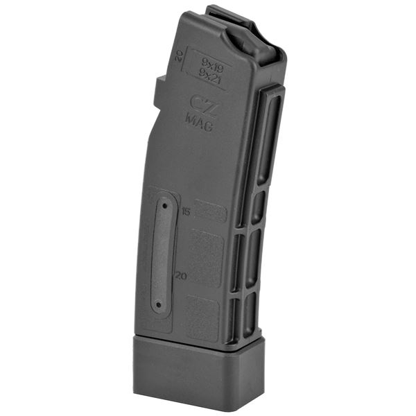 Picture of CZ 9mm Black with Window 20 Round Magazine