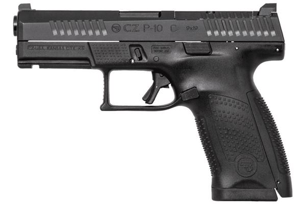 Picture of CZ P-10C 9mm Black Semi-Automatic Pistol (Low Capacity)