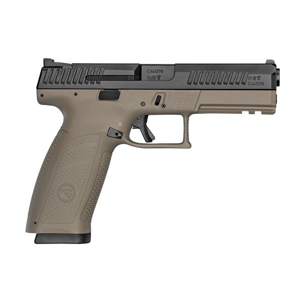 Picture of CZ P-10F 9mm Flat Dark Earth Semi-Automatic Pistol