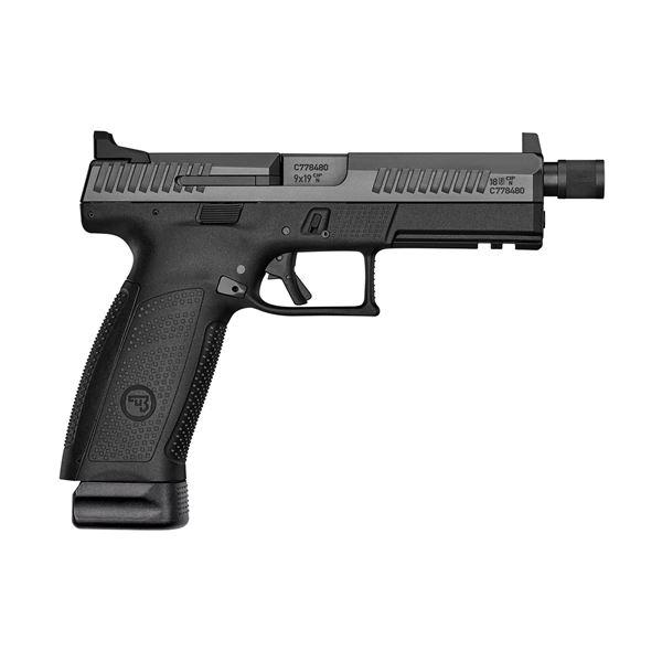 Picture of CZ P-10F 9mm Suppressor Ready Black Semi-Automatic Pistol
