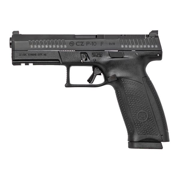 Picture of CZ P-10F Optics Ready 9mm Black Semi-Automatic Pistol (Low Capacity)