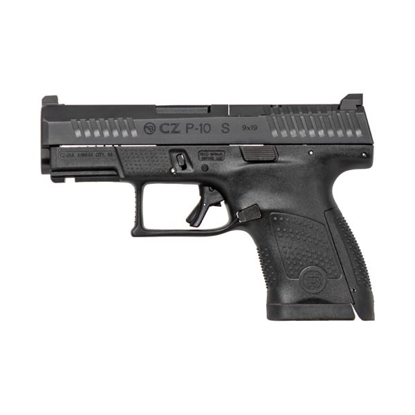 Picture of CZ P-10S Optics Ready 9mm Black Semi-Automatic Pistol