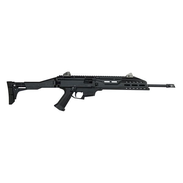 Picture of CZ Scorpion EVO 3 S1 with Muzzle Brake 9mm Black Carbine (Low Capacity)