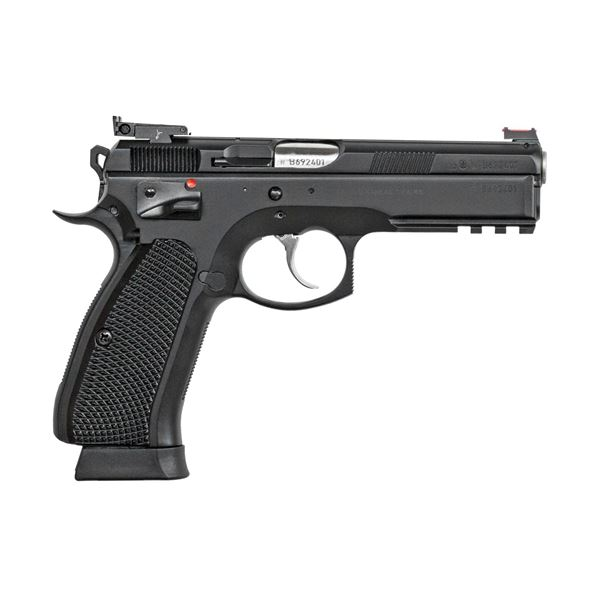 Picture of CZ SP-01 Shadow Target II 9mm Black Semi-Automatic Pistol