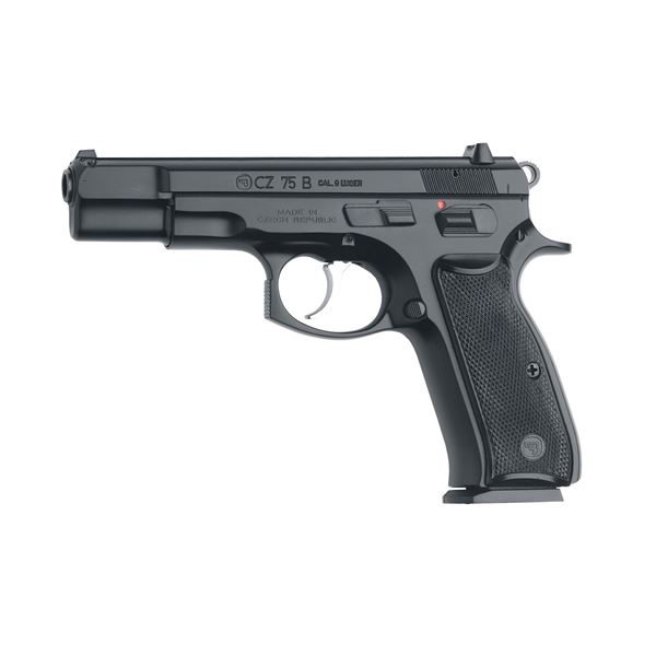 Picture of CZ 75 B 9mm Black Semi-Automatic 10 Round Pistol