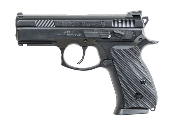 Picture of CZ P-01 Omega 9mm Black Semi-Automatic Pistol (Low Capacity)