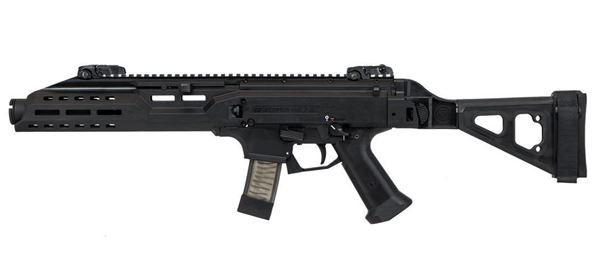 Picture of CZ Scorpion EVO 3 S1 9mm Black Pistol (Low Capacity)