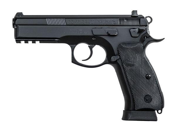 Picture of CZ 75 SP-01 Tactical 9mm Black Pistol