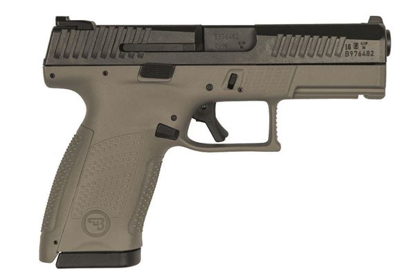 Picture of CZ P-10C 9mm Flat Desert Earth Semi-Automatic Pistol (Low Capacity)