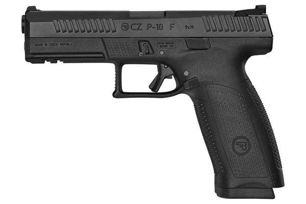 Picture of CZ P-10F 9mm Black Semi-Automatic Pistol (Low Capacity)