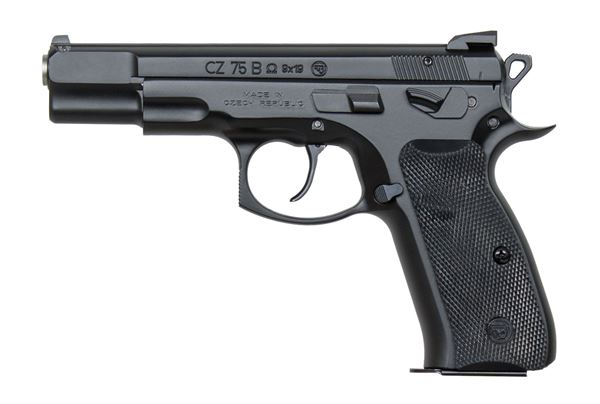 Picture of CZ 75 B Omega 9mm Black Semi-Automatic Pistol (Low Capacity)