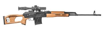 Picture of Century Arms PSL 54 7.62x54R Semi-Automatic Marksman Rifle with PO 4x24 Optic