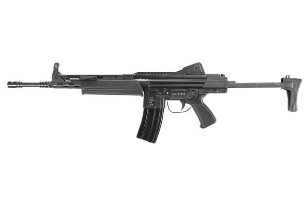 Picture of MarColMar Firearms CETME LC GEN 2 223 Rem / 5.56x45mm Black Semi-Automatic Rifle with Rail