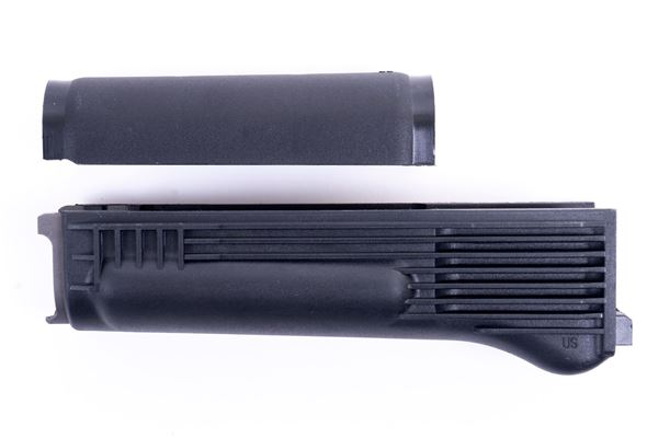 Picture of Arsenal Black Polymer Handguard Set with Stainless Steel Heat Shield for Milled Receiver