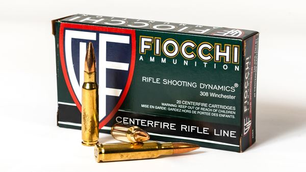 Picture of Fiocchi Ammunition 308 Win 150 Grain Full Metal Jacket Boat Tail 20 Round Box