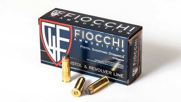 Picture of Fiocchi Ammunition 44 Remington Magnum 240 Grain Jacketed Soft Point 50 Round Box
