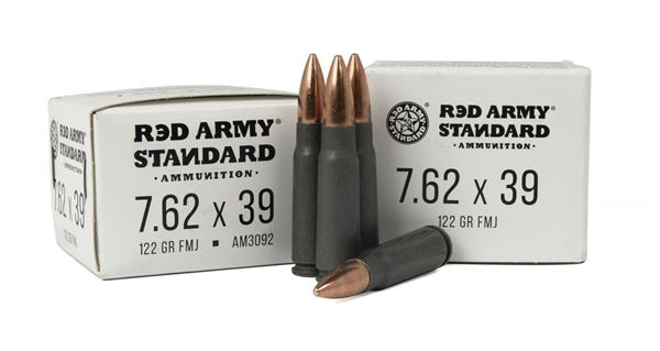 Picture of Red Army Standard 7.62x39mm 122 Grain Full Metal Jacket 1000 Round Case