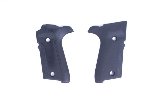 Picture of Rex Compact Grips Hogue Solid Black Grips
