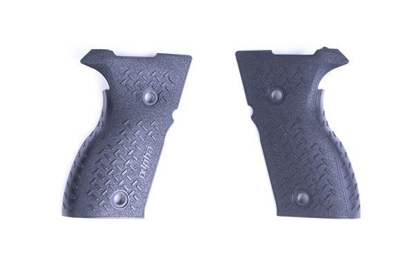 Picture of Arex Black Polymer Pistol Grip Set for Rex Alpha