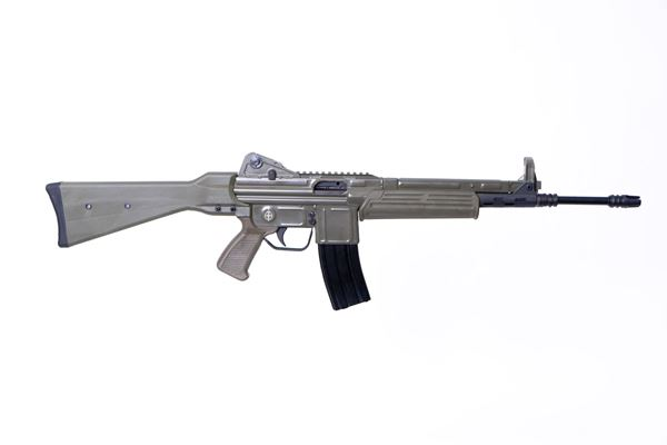 Picture of MarColMar Firearms CETME L Gen 2 223 Rem / 5.56x45mm Spanish Green Semi-Automatic Rifle with Rail