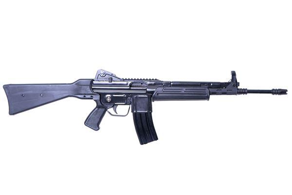 Picture of MarColMar Firearms CETME L Gen 2 223 Rem / 5.56x45mm Black Semi-Automatic Rifle