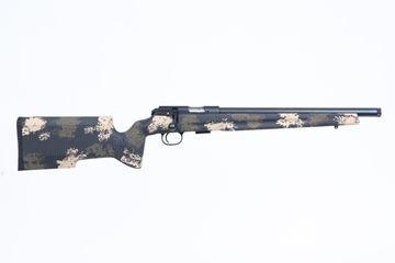 """Picture of CZ 457 Varmint Precision Trainer 22LR Camo 16.5"""" Barrel Bolt Action 5 Round Rifle"""