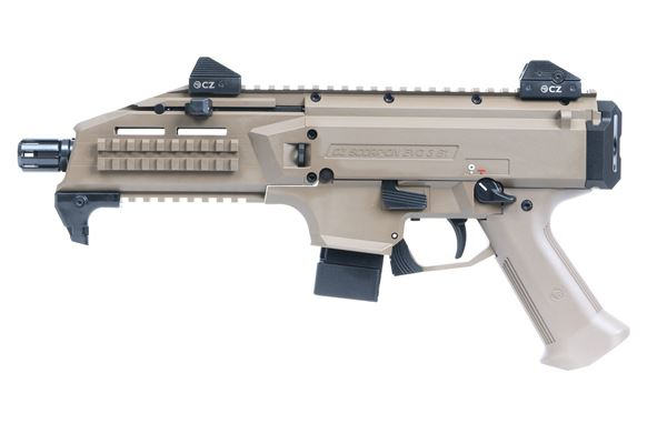Picture of CZ Scorpion EVO 3 S1 9mm Flat Desert Earth Semi-Automatic Pistol