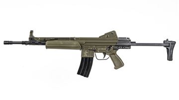 Picture of MarColMar Firearms CETME LC GEN 2 223 Rem / 5.56x45mm Spanish Green Semi-Automatic Rifle without Rail
